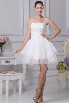 Appliques A-Line Short Tulle Sleeveless Dressed In 16 Years