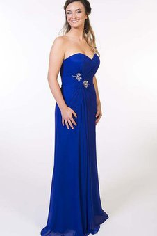 Simple Chic & Modern Zipper Up Sweetheart Elegant & Luxurious Prom Dress