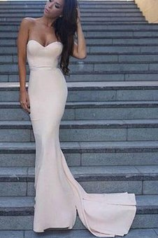 Mermaid Backless Sexy Elegant & Luxurious Prom Dress