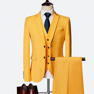 Men Terno Fashion Masculino 3 Pieces Young Men Suits Suit Sets