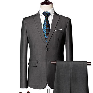 Work Business Relaxed Colors Terno Men Slim Fit Suit Men Suits