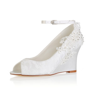 Actual Heel Height 3.15 Inch Wedges Drama Summer Women Shoe