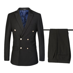 Men High Quality European Size Men Fashion Suit 2 Piece Suit