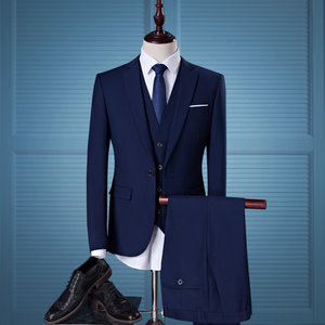 Casual Business Asian Size Male Color Suit United Suits