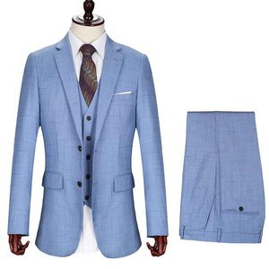 Quality Jacket + Vest + Pants Men Suits Men's Wedding Suit Wedding Suits Together Suits