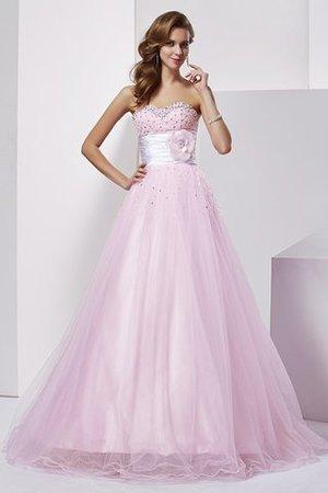 d7dd10eb5a Ball Gown Natural Waist Sleeveless Elastic Woven Satin Sweetheart Quinceanera  Dress