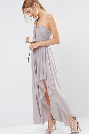 One Shoulder Informal & Casual Romantic Sexy Sleeveless Bridesmaid Dress