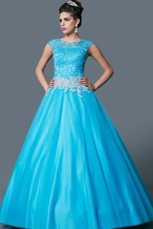 Floor Length Jewel Ball Gown Sleeveless Natural Waist Dressed In 16 Years