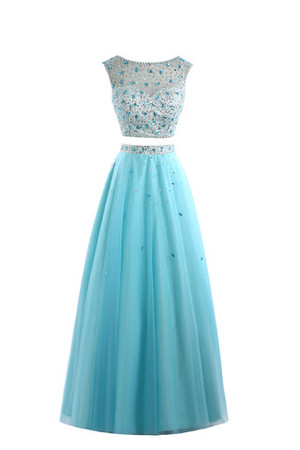 Princess Church Demure Floor Length Sleeveless Prom Dress