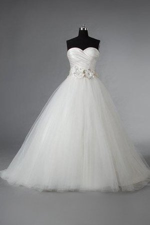 Lace-up Beading Simple Criss-Cross Sweetheart Wedding Dress