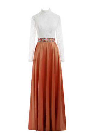 Embroidery Ankle Length Sweep Train Beach Mother Of The Bride Dress