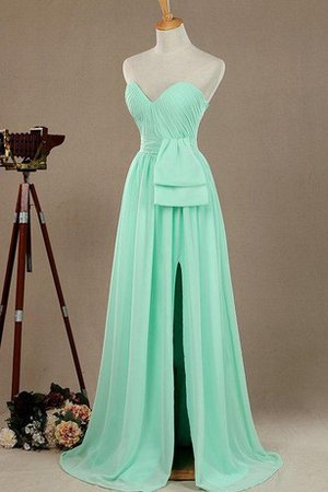 Strapless Long Chiffon Sexy Sleeveless Bridesmaid Dress