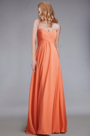 Chic & Modern Backless Ruched Empire Elegant & Luxurious Bridesmaid Dress