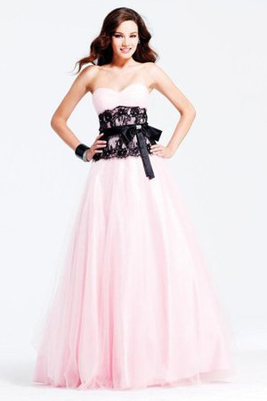 Sleeveless Bow Floor Length Strapless Evening Dress