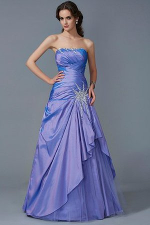 5f751c0dbc Taffeta Zipper Up Strapless Ball Gown Empire Waist Quinceanera Dress