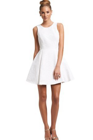 Tidy A-Line Pretty Bow Sleeveless Short Party Dress