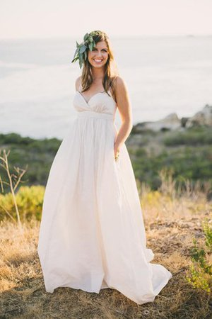 Taffeta Informal & Casual A-Line Beach Wedding Dress
