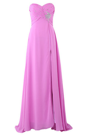 Floor Length Crystal Chic & Modern Mid Back Swing Evening Dress
