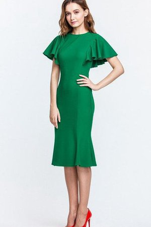 Sheath Sleeveless Zipper Up High Neck Mother Of The Bride Dress