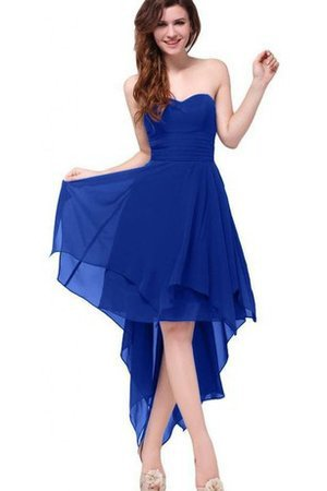 Ruched Simple A-Line Ruffles Pleated Bridesmaid Dress