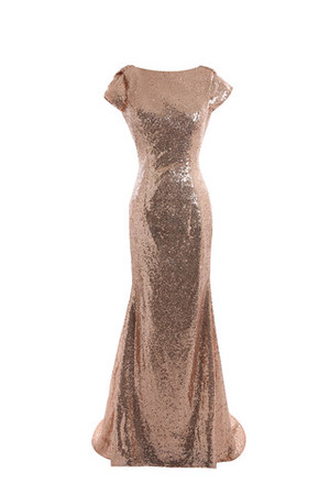 Princess Sequins Long Formal Hall Mother Of The Bride Dress