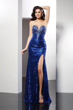 Sheath Sweetheart Sleeveless Empire Waist Long Prom Dress