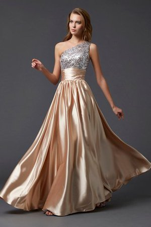 Princess Zipper Up Floor Length Natural Waist Long Evening Dress