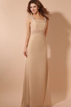 Floor Length Elegant & Luxurious Chiffon Ruched Evening Dress