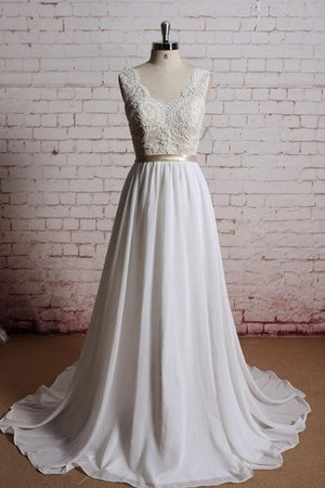 Floor Length Sashes Outdoor Rectangle Informal & Casual Wedding Dress