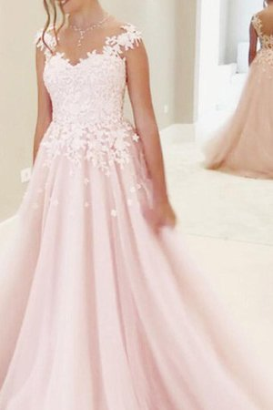 Spaghetti Straps Romantic Embroidery Pleated Short Sleeves Prom Dress