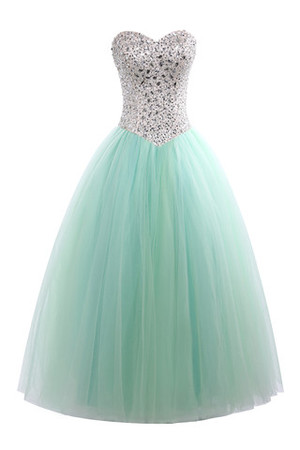 Sexy Modest Princess Elastic Satin Chic & Modern Quinceanera Dress