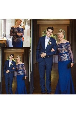 Floor Length Long Sleeves Long Sheath Natural Waist Mother Of The Bride Dress