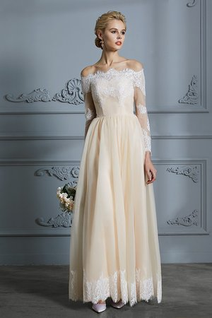 Pleated A-Line Embroidery Sexy Cute Romantic Swing Wedding Dress