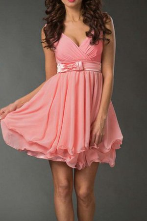 Ruched Sashes Sleeveless A-Line Bow Bridesmaid Dress