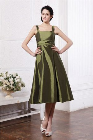 Zipper Up Ruffles Sleeveless A-Line Empire Waist Bridesmaid Dress