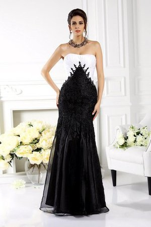 Tulle Zipper Up Empire Waist Sleeveless Long Mother Of The Bride Dress
