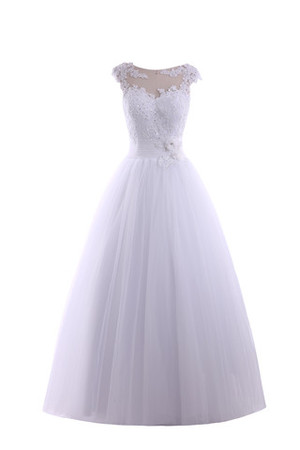 Empire Waist Multi Layer Elegant & Luxurious Lace Wedding Dress