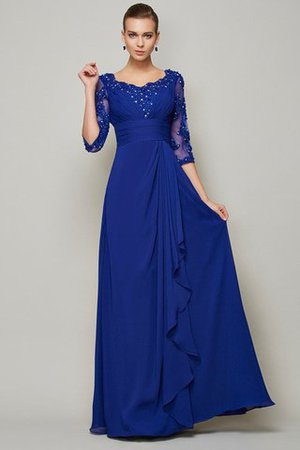 A-Line Empire Waist Scoop Lace Mother Of The Bride Dress