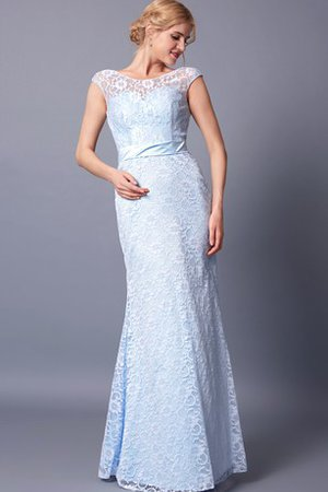 Floor Length Romantic Elegant & Luxurious Lace Fabric Prom Dress