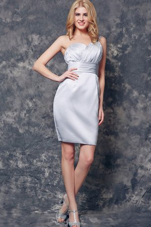 Short Ruched Sleeveless Elegant & Luxurious Simple Cocktail Dress