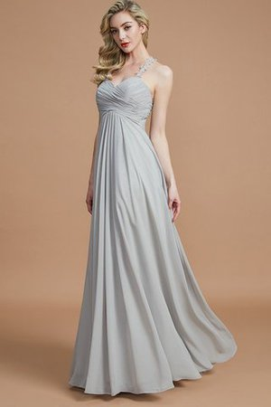 Natural Waist Floor Length Sweetheart Ruched Princess Bridesmaid Dress