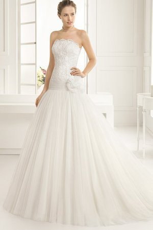 Exclusive Misses Hall Chic & Modern Cascading Ruffle Wedding Dress