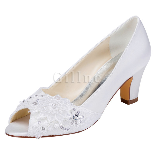 Actual Heel Height 2.36 Inch Trend Autumn Winter Wedding Shoe