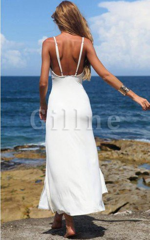 Sleeveless A-Line Short Sequined V-Neck Prom Dress